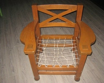 Mission oak chair Contact me for shipping cost or local pick up