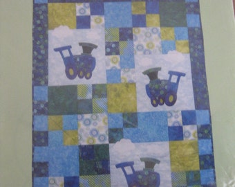 Loco-Motion Baby Quilt/Wall Hanging Pattern