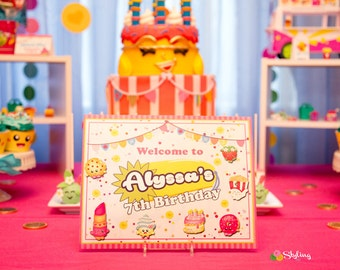 Shopkins Inspired Sign