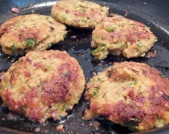Vegetarian Chickpea Cakes Recipe