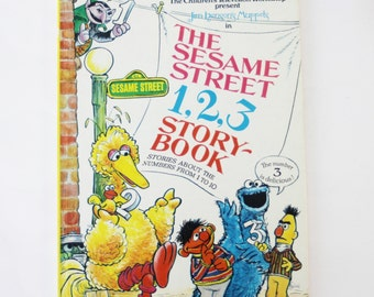The Sesame Street 1,2,3 Storybook: Stories about the Numbers From 1 to 10