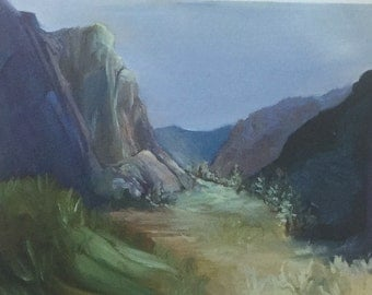 Yosemite Print by artist Sablak