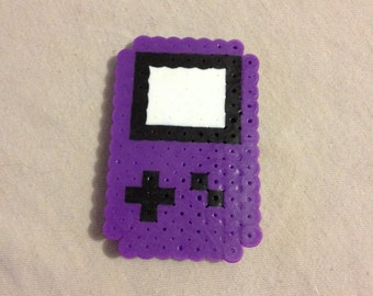 Mini Gameboy Perler Bead Magnet