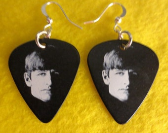 Beatle Ringo Starr dangle earrings