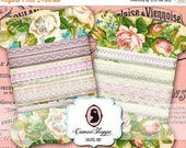 75% OFF SALE LACE Holders Shabby chic No 05 Digital Collage Sheet Digital holders Vintage Roses Scrapbooking Digital downloads