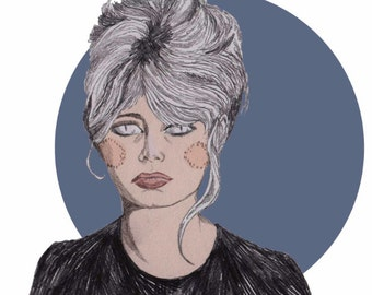 Brigitte Bardot Print