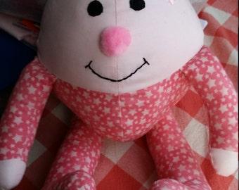Mrs Humpty Dumpty - Soft Toy - Handmade