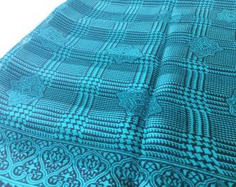 Silken Blue Scarf