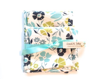 Re-Useable Sandwich Bags/Eco-Friendly/Snack Bags/Set of 5