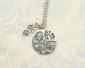 Four Seasons Necklace / 4 Seasons Necklace / women's jewelry / jewelry / teen jewelry / women