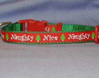 Extra small Naughty and Nice collar