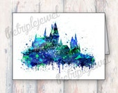 Harry Potter Birthday Cards, Note Cards, Birthday Party, Geekery, Hogwarts Castle, Fandom, Birthday Invite, Kids Party, Christmas Card