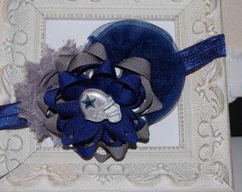 Dallas Cowboys Football Elastic Infant Headband