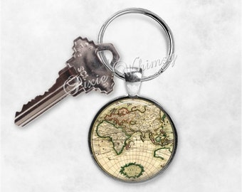 Map keychain etsy gumiabroncs Image collections