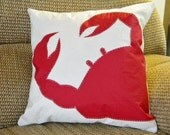 RED CRAB Maryland, Recycled sail cloth Pillow