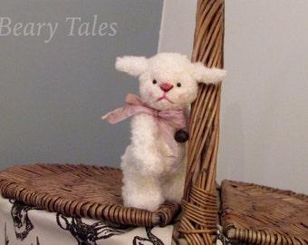 Mary's Lamb - One of a Kind Miniature Artist Lamb