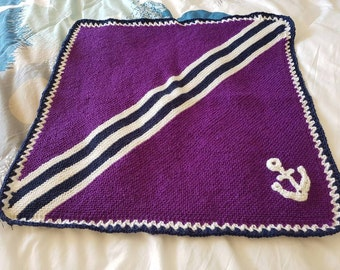 Dockers inspired baby pram or swaddling blanket