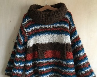 60's Italian Wool Boucle Sweater Macy Associates
