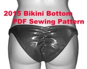 Bikini Bottom Sewing Pattern Collection (5 Sizes)