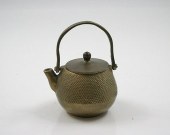Petite Brass Teapot