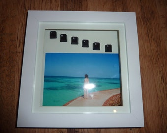 Personalised Picture Frame with Computer Keys