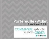 Special order custom - Portfolio 3-section