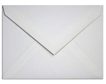 White 5x7 Envelopes - Set of 10