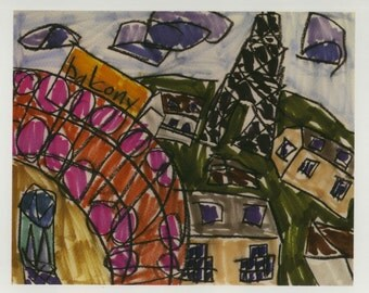 Postcard: City I (2013) (Paris)