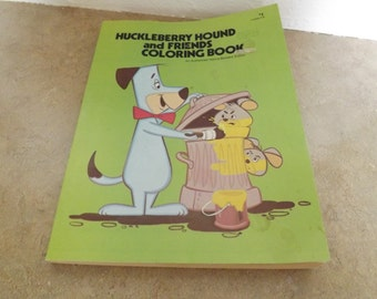 Huckleberry Hound and Friends Coloring Book