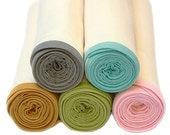 """Organic Swaddle Blanket - Extra Large 42"""" x 42""""-  Baby Shower Gift Baby Wrap Receiving Blanket - DANISH MIDWIFE"""