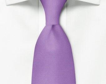 Violet Silk Tie