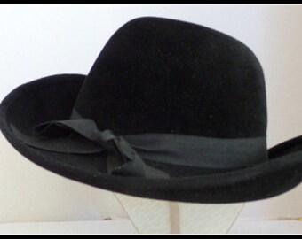 Vintage Gene Davis Fedora Style Hat