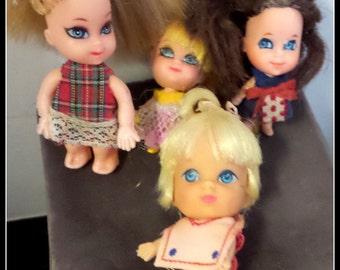 Vintage Set of Liddle Kiddles