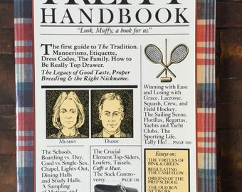 Preppy Handbook, First Edition 19th Printing, August 1981, Classic WASP Mockery, Great Condition, Gift Display Collection