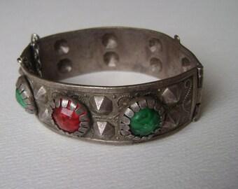 vintage Middle Eastern style studded bracelet