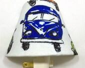 Volkswagen Bus Night Light / Hallway / Baby Shower Gift / Nursery Decor / Kid's Bedroom / Plug In Night Light / Home / Bohemian / Retro