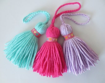 Sweetheart Collection Yarn Tassel
