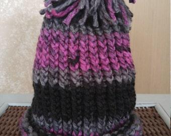 Knit winter hat- kids