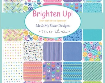 Layer Cake Brighten Up by Me and My Sister for Moda - Early release available now