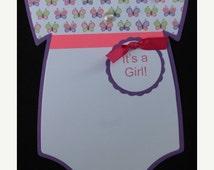 BABY BIB die cuts scrapbook cards