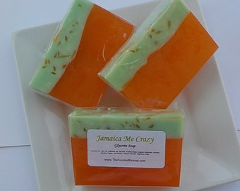 SOAP - Jamaica Me Crazy Glycerin Soap Fruity