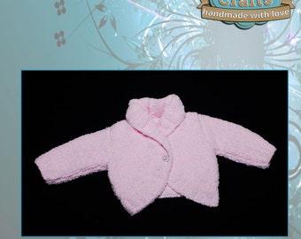 Hand knitted Babies Bolero Jacket