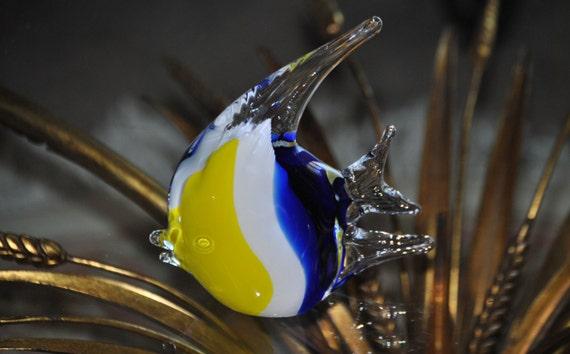 Vintage Murano Like Blown Glass Fish
