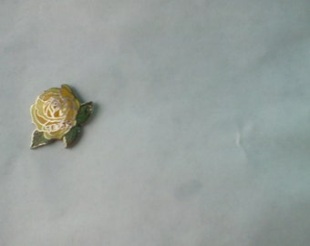 Vintage 1980's pin Yellow Rose of Texas