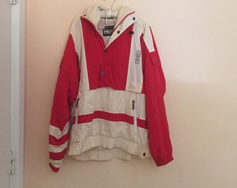 SALE large 80's head jacket