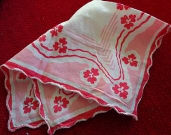 Delicate vintage handkerchiefs
