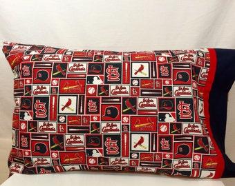 St Louis Cardinals pillow case