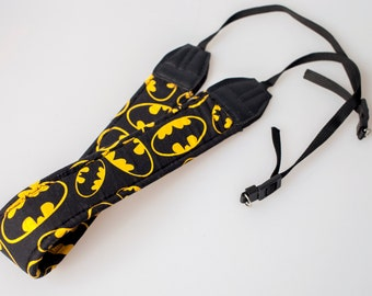 Batman Digital SLR Camera Strap Handmade