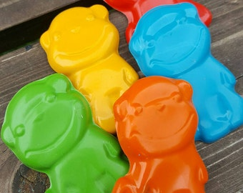 Monkey Crayons set of 50 - party favors