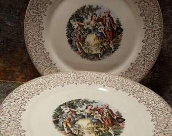 sheffield chantilly it dinner plates set of 8